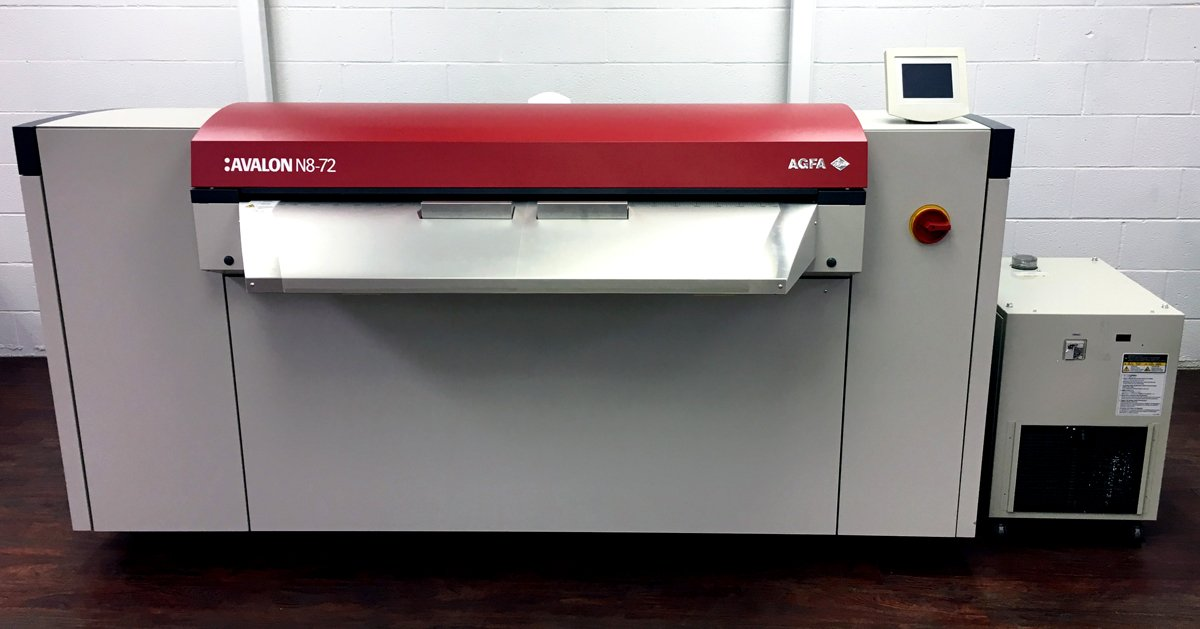Refurbished Agfa Avalon N8-72 for Sale
