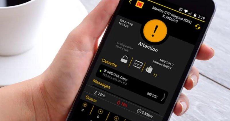 Kodak CTP Mobile App